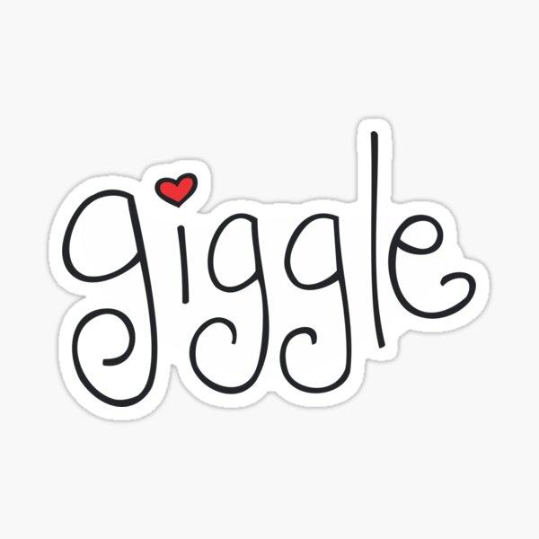 Giggle Sticker