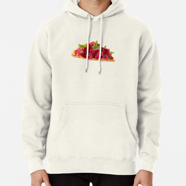 Rose pizza Pullover Hoodie