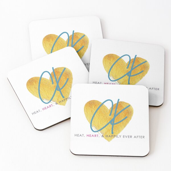 Claire Kingsley Coasters (Set of 4)