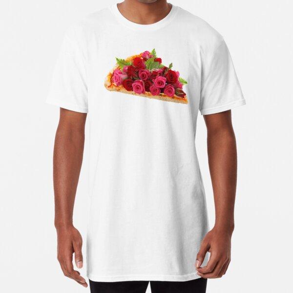 Rose pizza Long T-Shirt