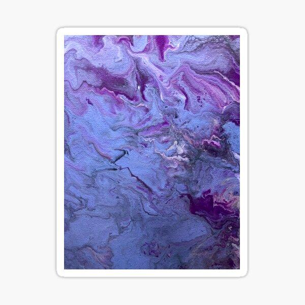 Cloud Me in Purple Sticker