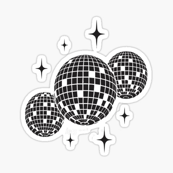 Disco balls Sticker