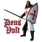 Deus Vult - The Crusader heroes! by Andy Renard