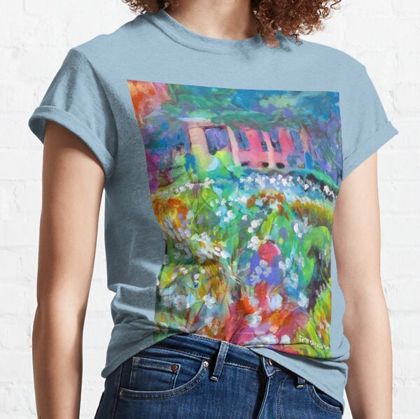 Flowers in the Garden - Balboa Park San Diego Classic T-Shirt