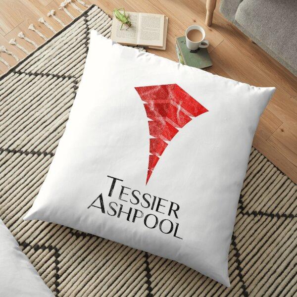 Tessier Ashpool Logo inspiré de la trilogie Sprawl Coussin de sol
