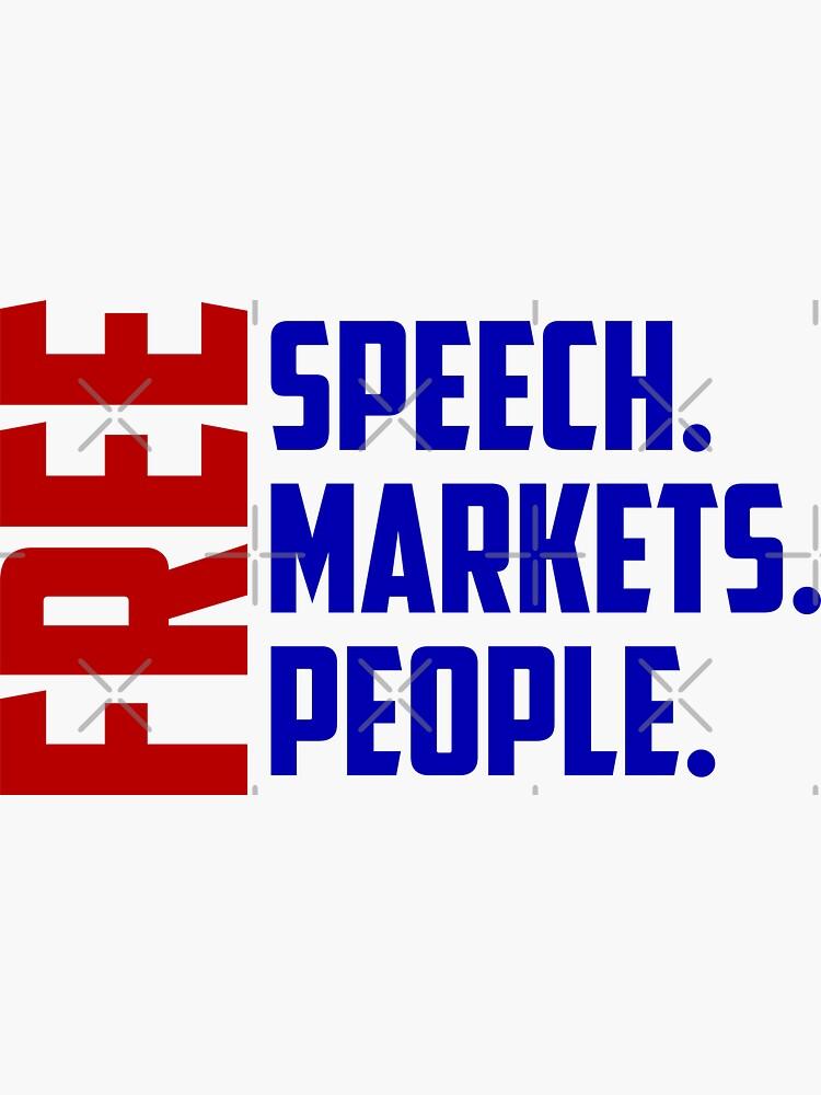 la libertad de expresión comercializa personas de RossDillon