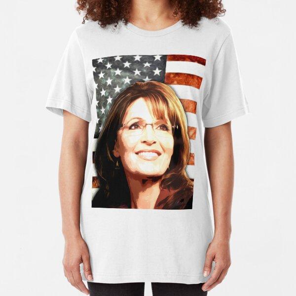 Sarah Palin Patriot Slim Fit T-Shirt