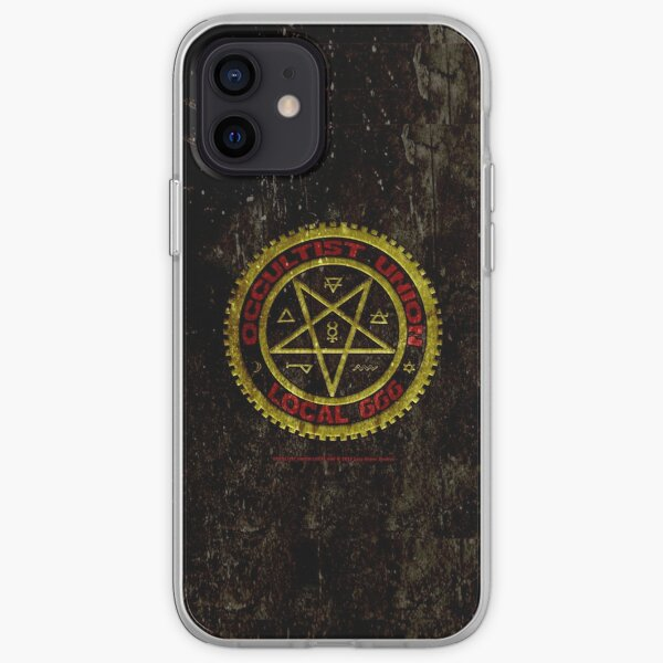 OCCULTIST UNION LOCAL 666     019 iPhone Soft Case