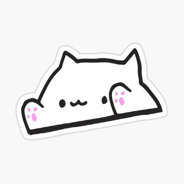 Bongo Cat Meme Pegatina
