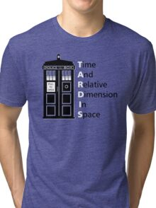tIME bOX 3 Tri-blend T-Shirt