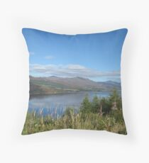 Loch Carron Throw Pillow