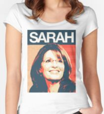 Sarah Palin Women's Fitted Scoop T-Shirt