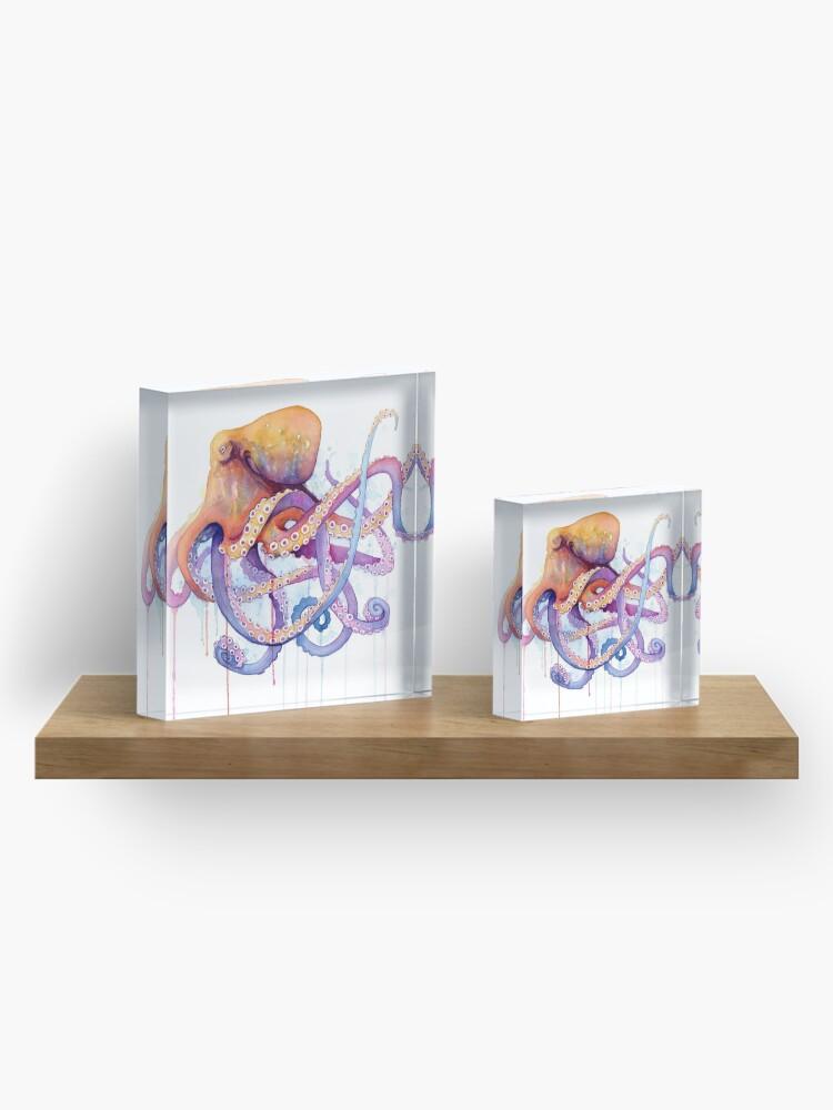 Alternate view of Octopus II Acrylic Block
