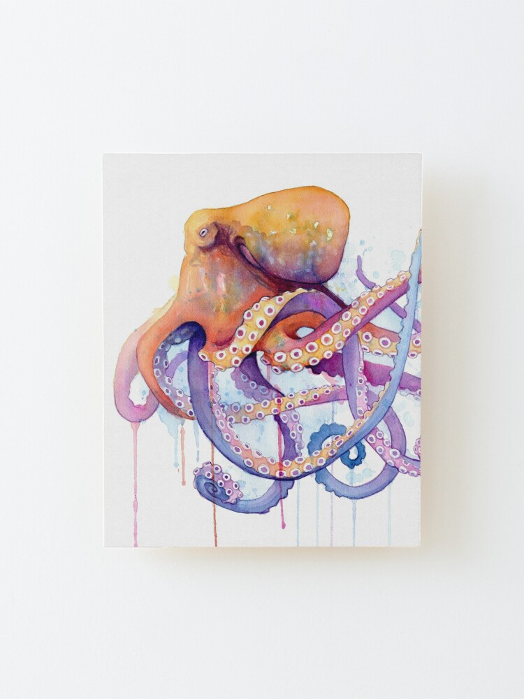 Alternate view of Octopus II Mounted Print