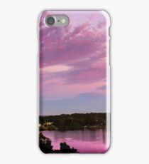 Pink Sky At Night, Who's Delight? iPhone Case/Skin