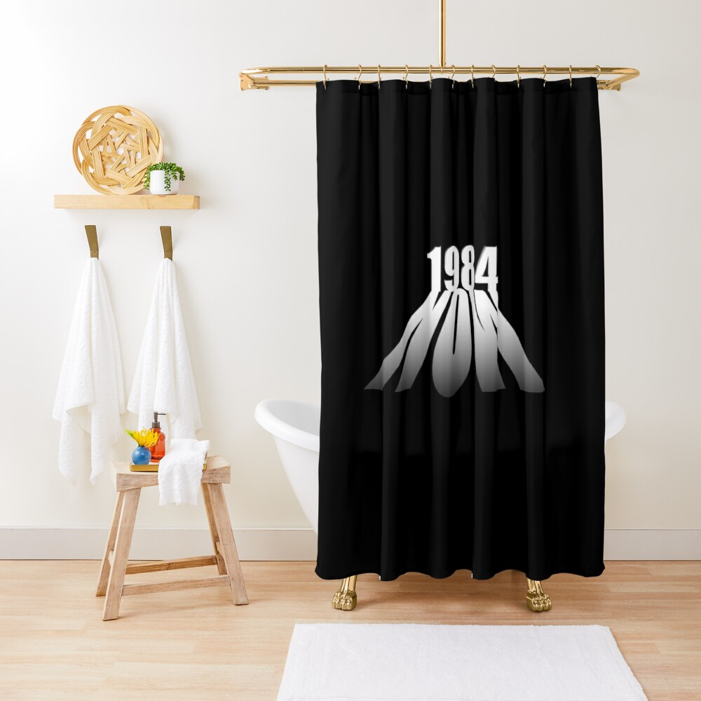 Orwell 1984 Shower Curtain