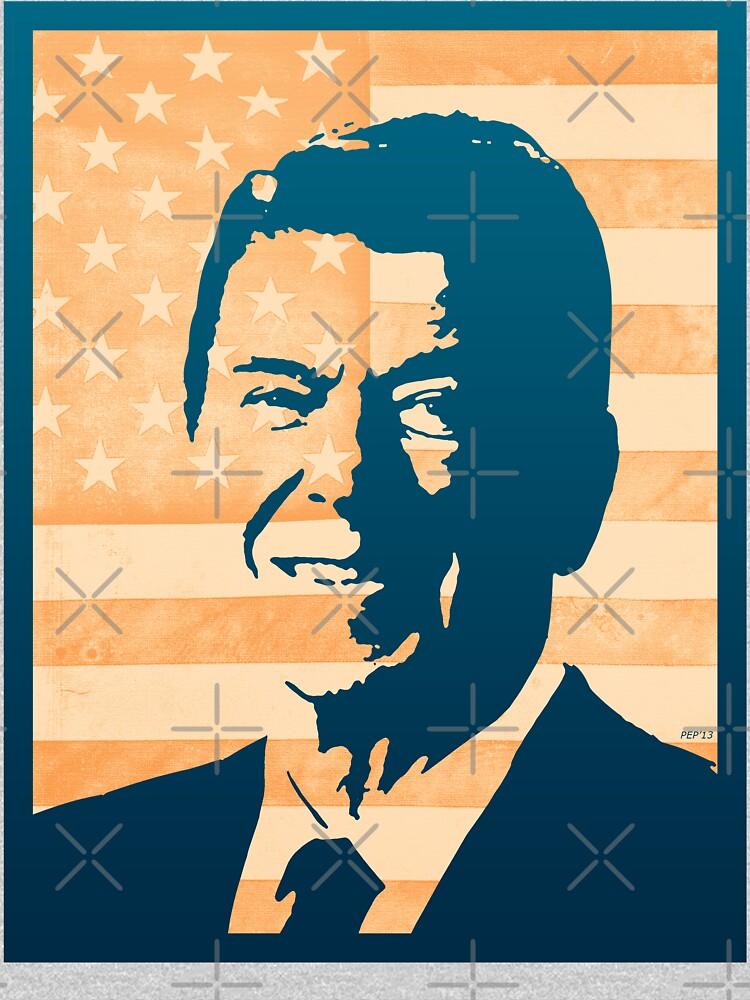 Ronald Reagan by morningdance