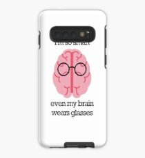 Brain Glasses – Text Case/Skin for Samsung Galaxy