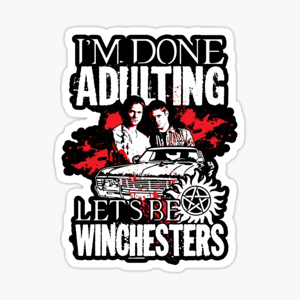 Let's Be Winchesters - V2 Sticker