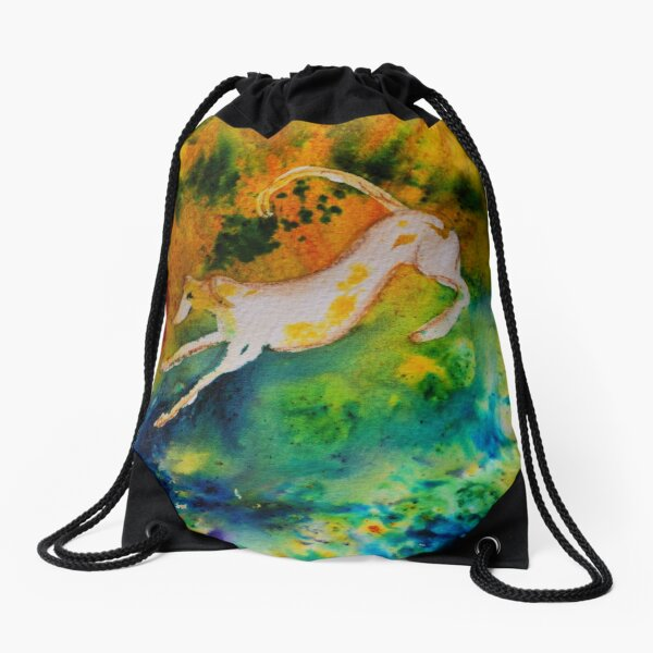 Lurcher Colour Fun Drawstring Bag