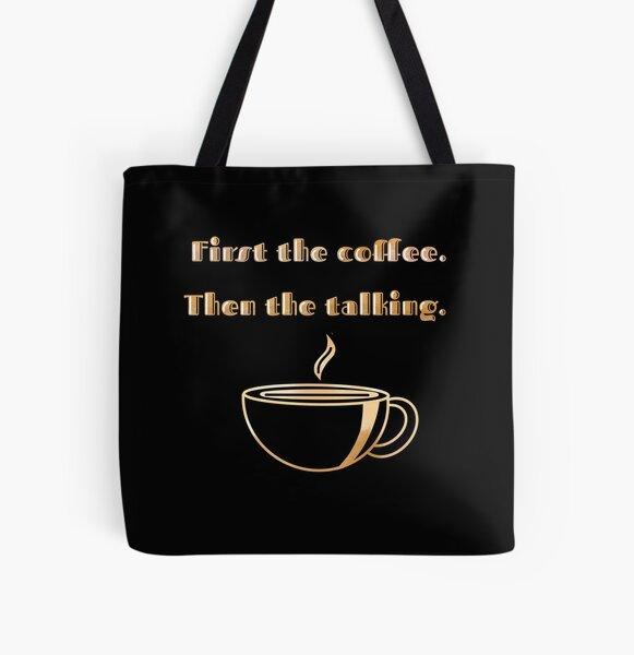 Coffee PSA All Over Print Tote Bag