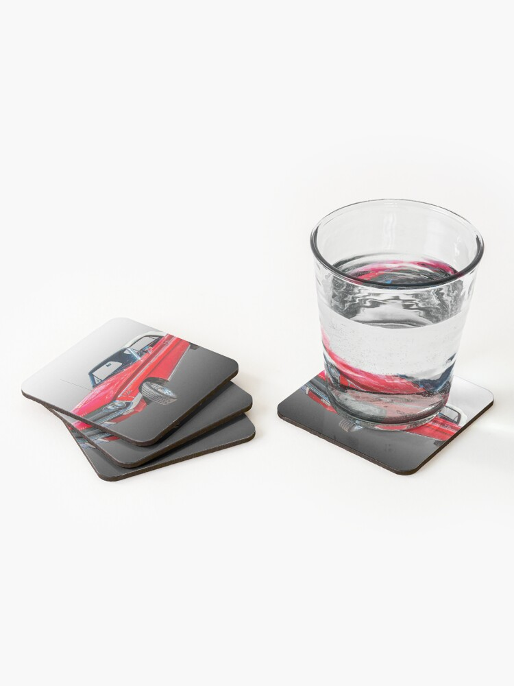 Alternate view of 1962 Oldsmobile F85 Cutlass Convertible Coasters (Set of 4)