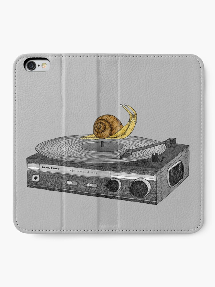 Alternate view of Slow Jamz iPhone Wallet