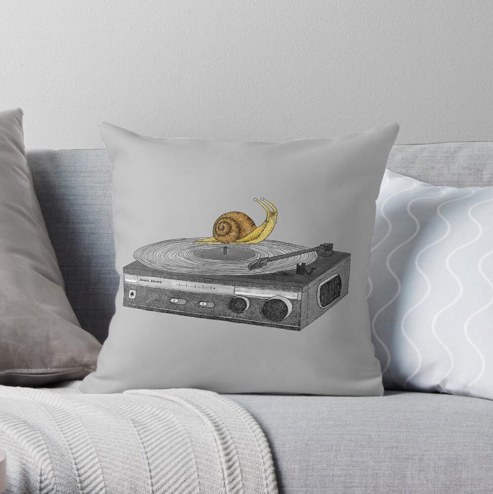 Slow Jamz Throw Pillow