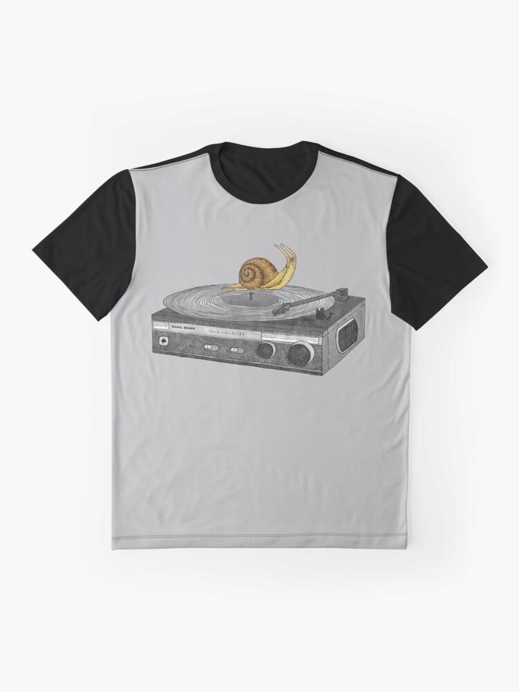Alternative Ansicht von Langsamer Jamz Grafik T-Shirt