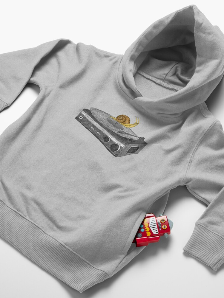 Alternate view of Slow Jamz Toddler Pullover Hoodie