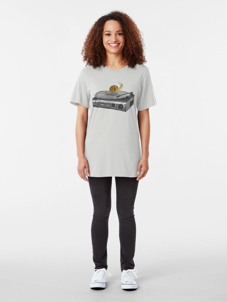 Alternate view of Slow Jamz Slim Fit T-Shirt