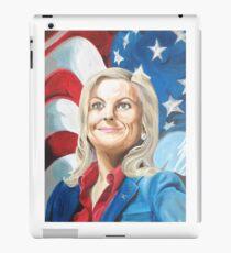 Fictional American Leslie Knope Parks & Recreation Fanart iPad Case/Skin