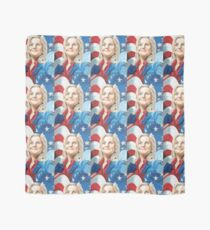 Fictional American Leslie Knope Parks & Recreation Fanart Scarf