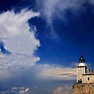 The lighthouse of Agia Mavra - Lefkada island by Hercules Milas