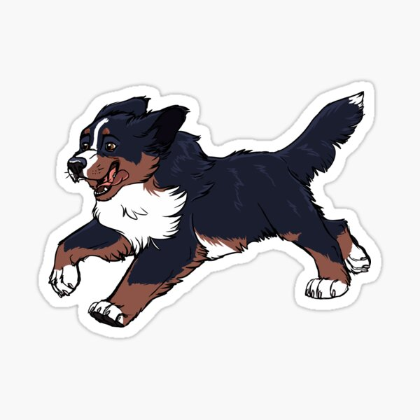 Mountain Dog Sticker