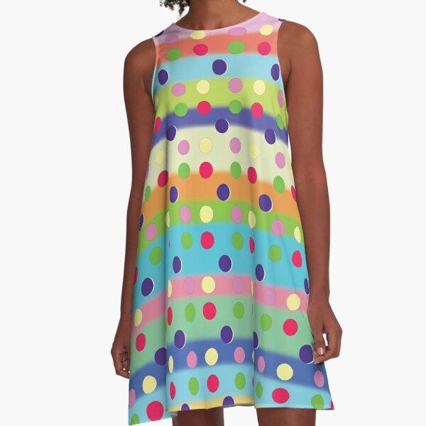 Prettier in Polkadots A-Line Dress