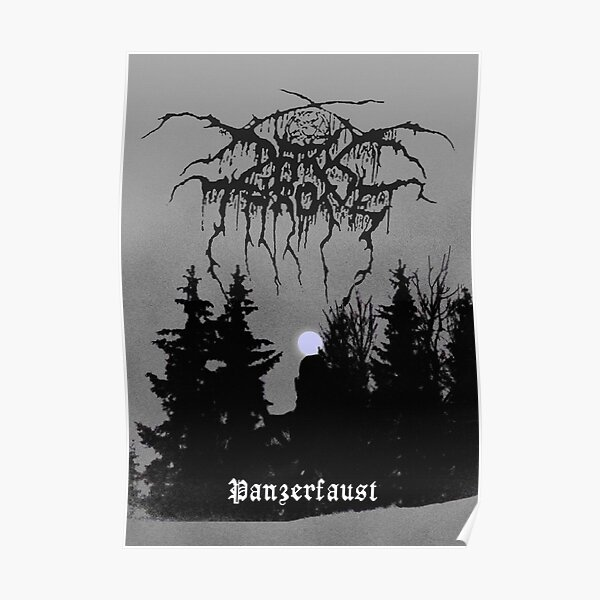 Darkthrone / Panzerfaust / Dark Throne Poster