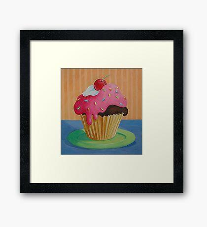Cupcake 1 Framed Print