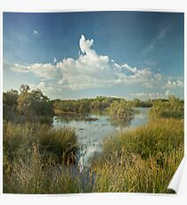sea flood ponds Poster