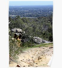 Perfect View from Perth Hills Poster