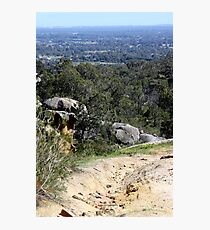 Perfect View from Perth Hills Photographic Print