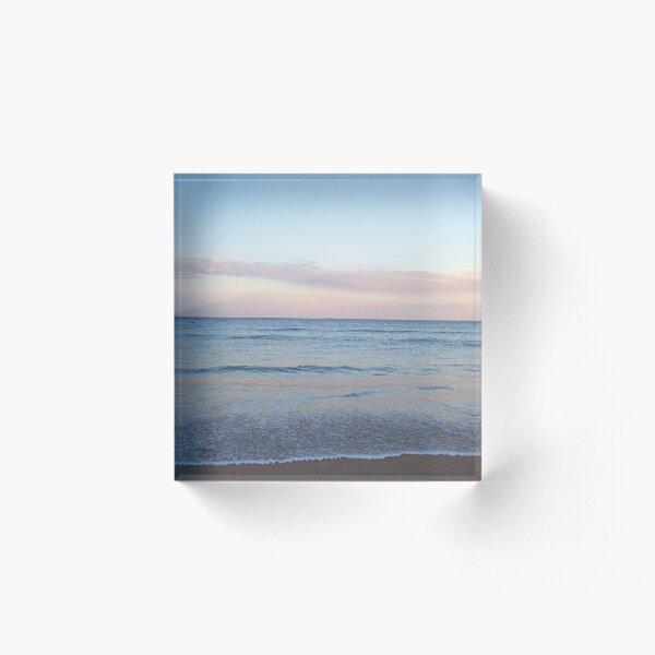Evening Beach 2 Acrylic Block
