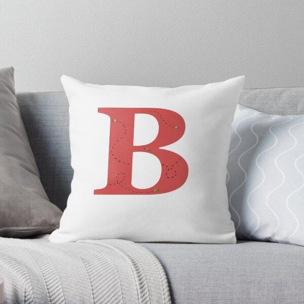 Bumble B Throw Pillow