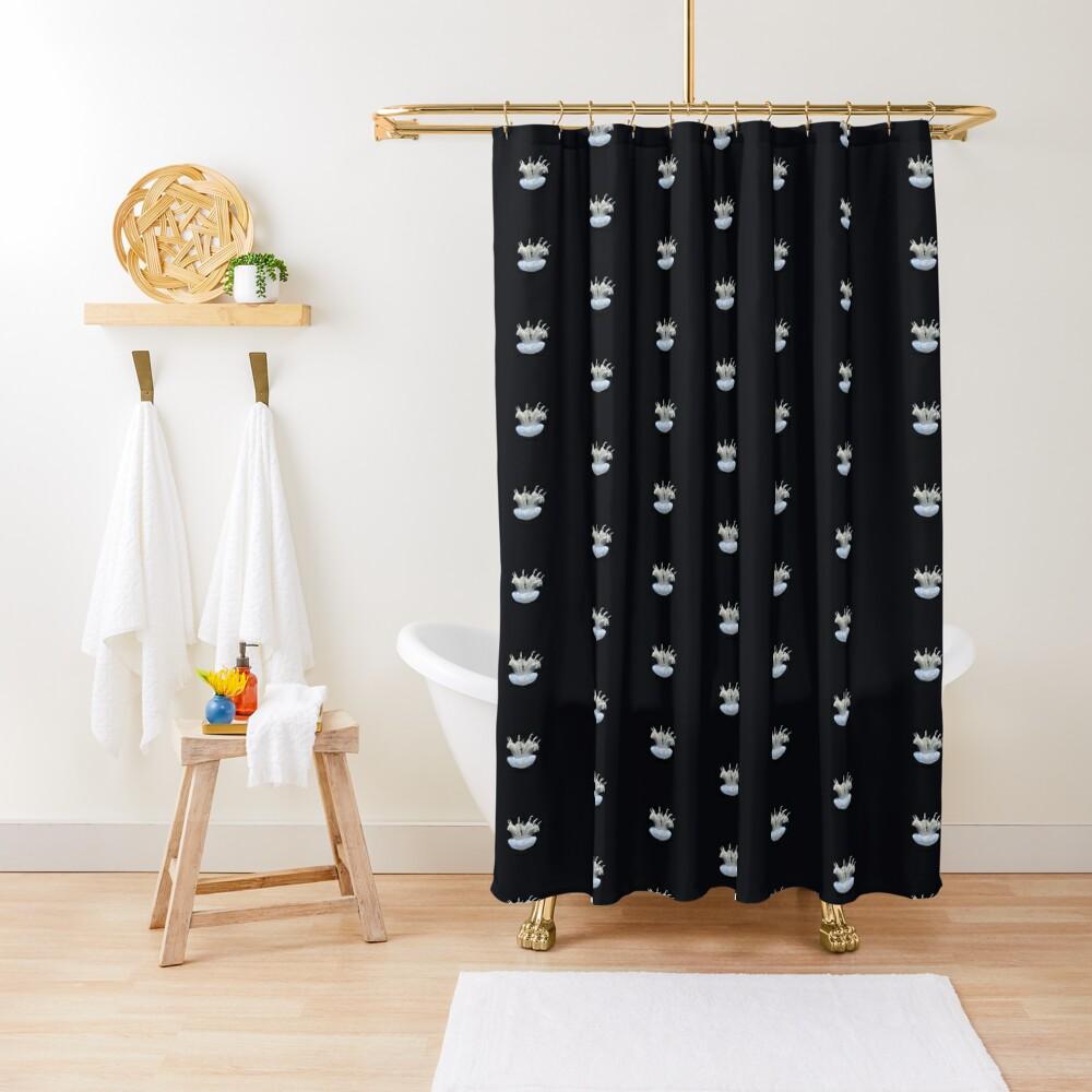 Tiny Jellyfish Shower Curtain