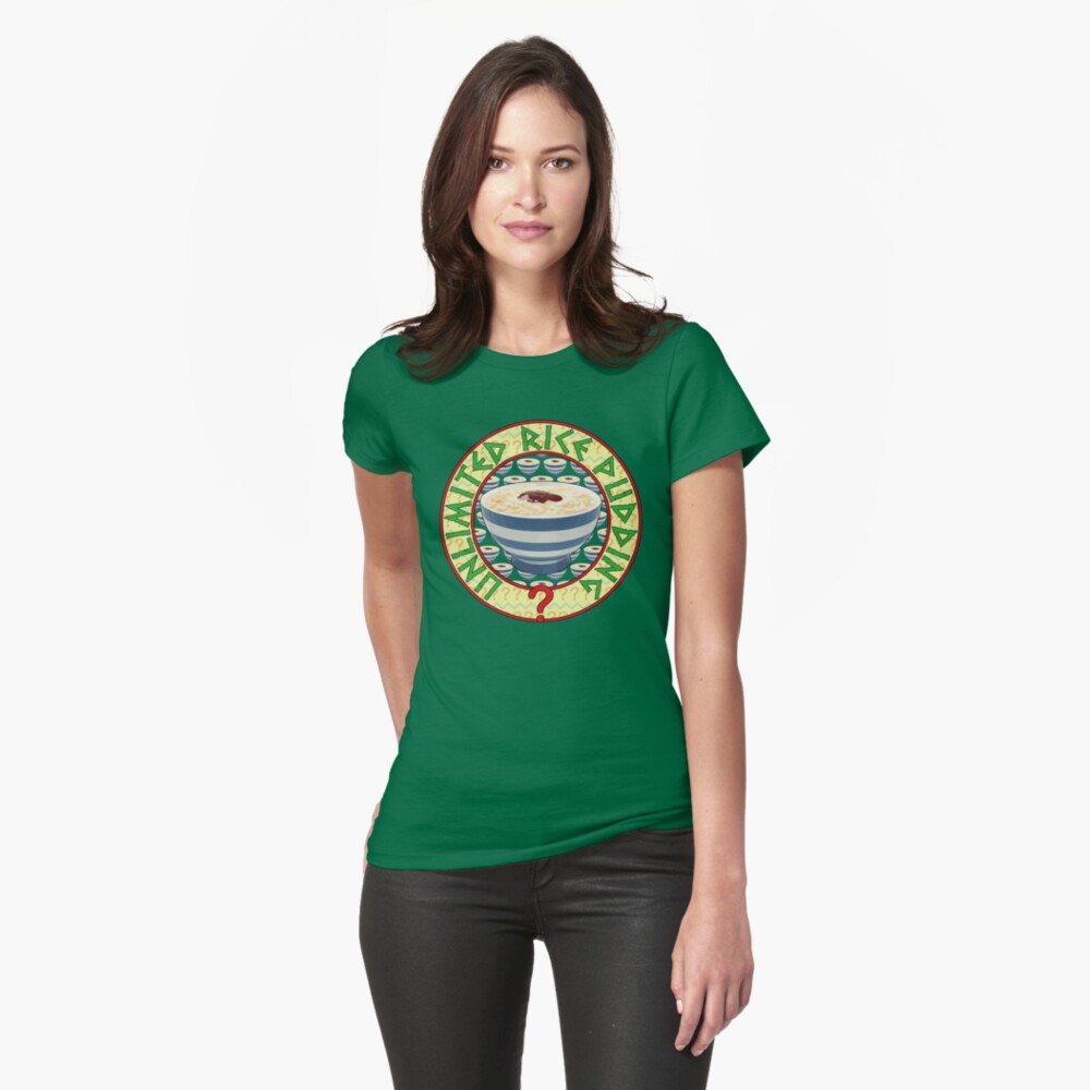 Unlimited Rice Pudding Womens T-Shirt Front