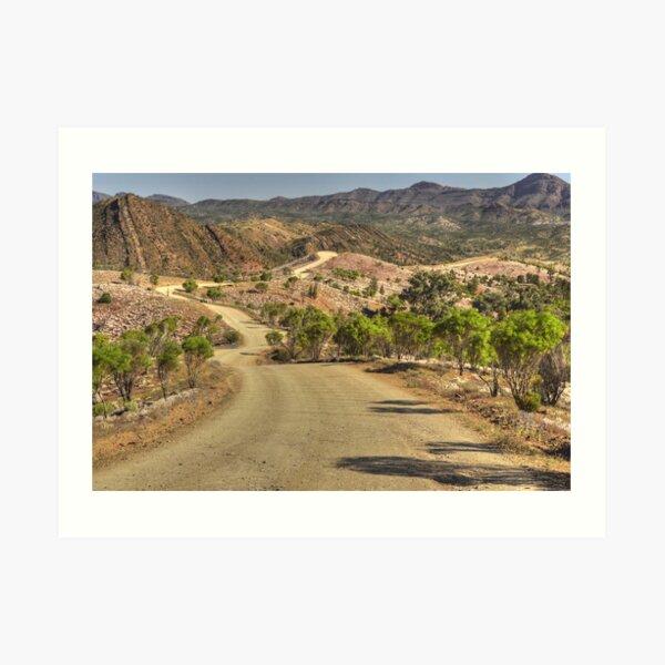 Bunyeroo Valley Finders Ranges  Art Print