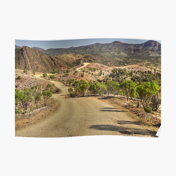 Bunyeroo Valley Finders Ranges  Poster