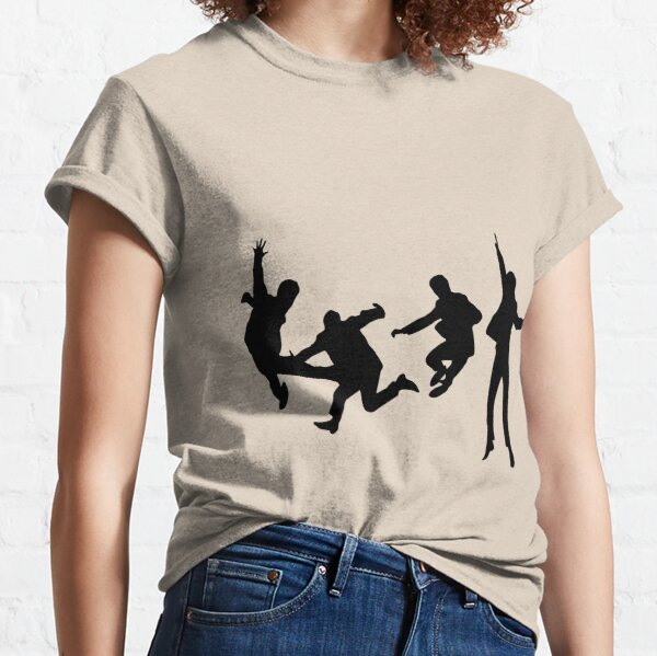 Beatles Silhouette Design  Classic T-Shirt