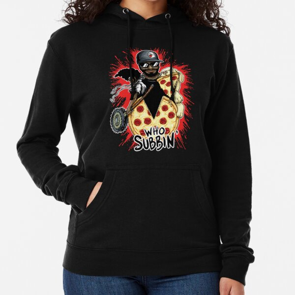 Who Subbin (Colored Design) Lightweight Hoodie