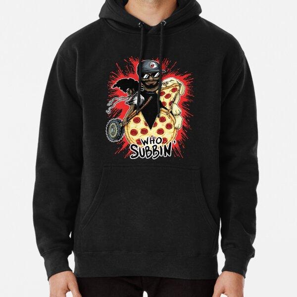Who Subbin (Colored Design) Pullover Hoodie